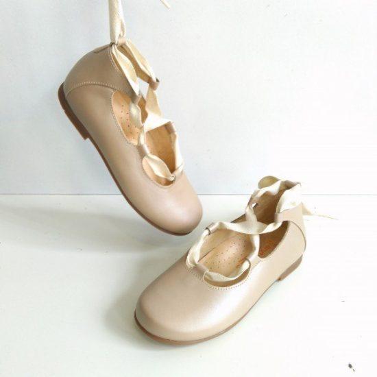 Bailarina Cuerdas Color Champagne para niñas de Andanines