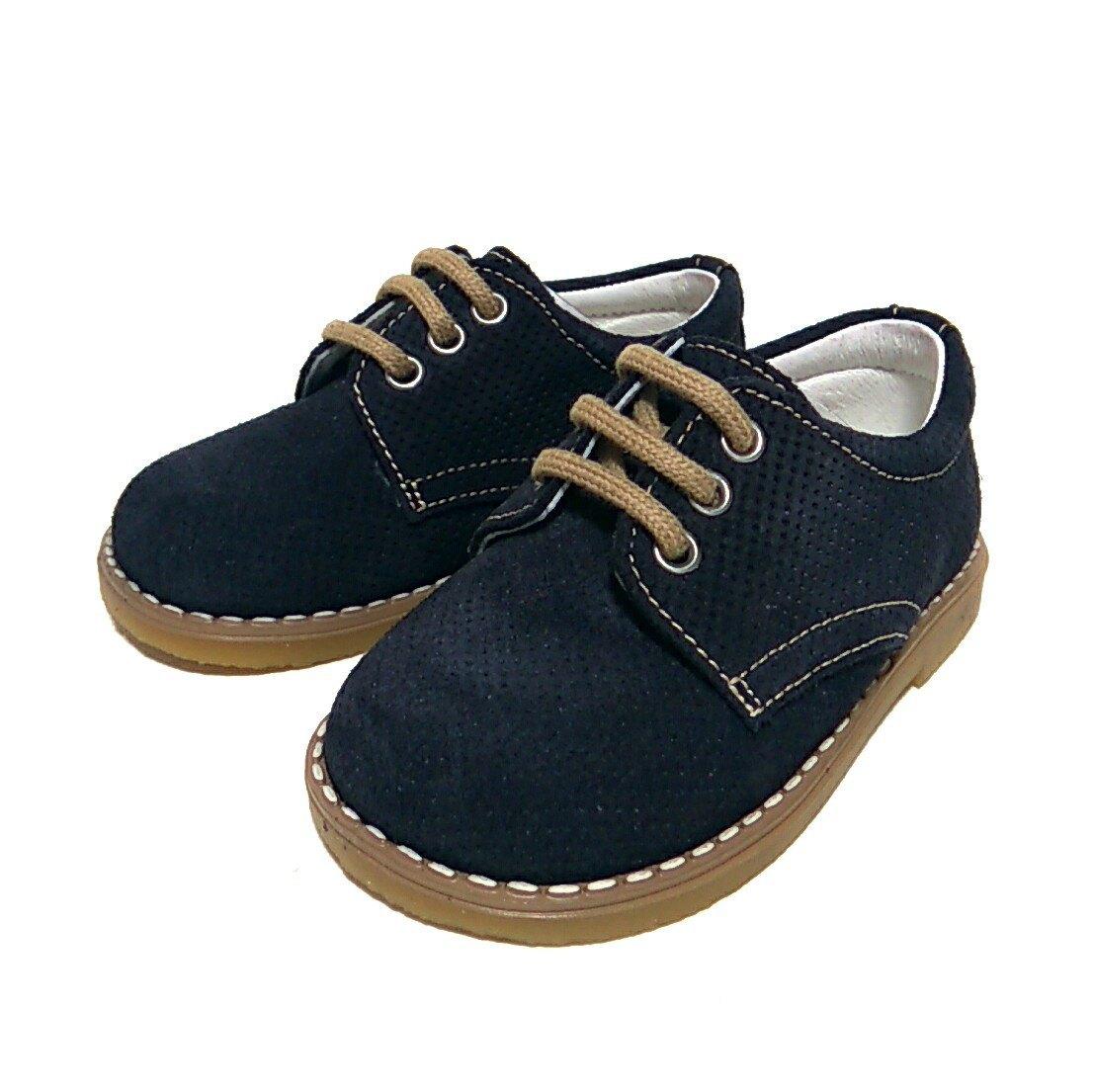 c968c083 Andanines zapato marino ante picado cordón ceremonia niño * Zapatines