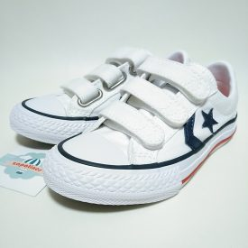 Converse All Star blanca velcro