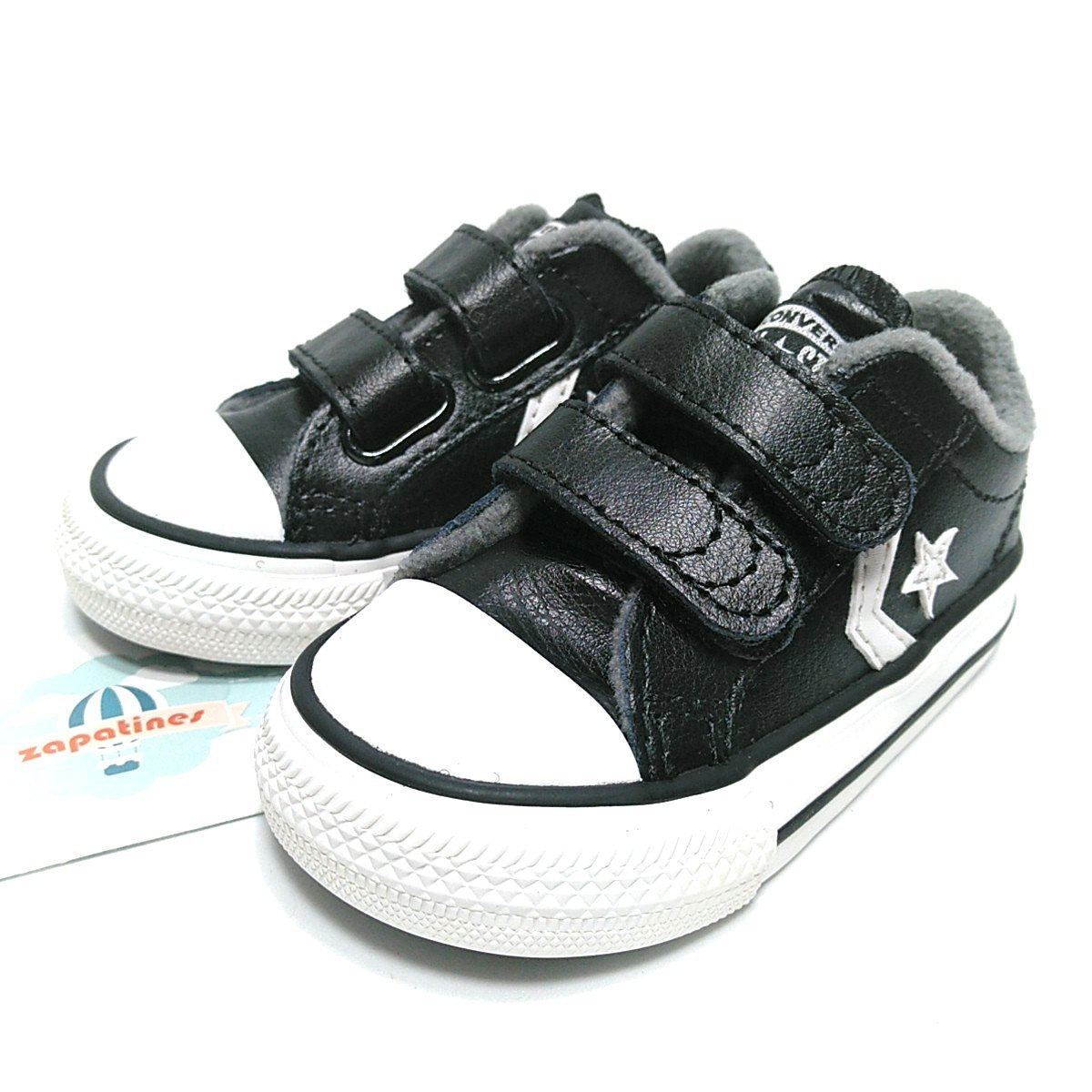 2converse niñas all star negras