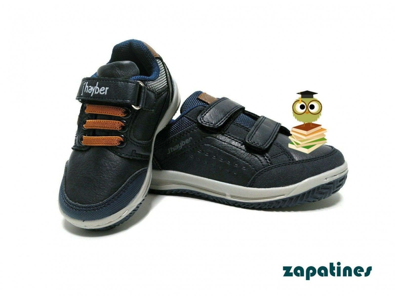 zapatillas jhayber marino niño