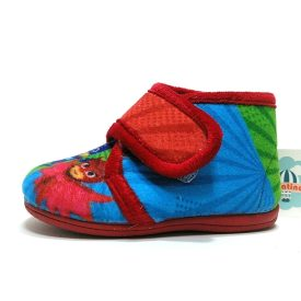 vulpeques zapatillas casa rojo dibus velcro
