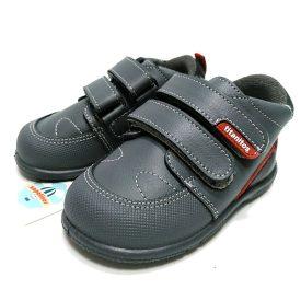 Titanitos bota gris refuerzo velcros