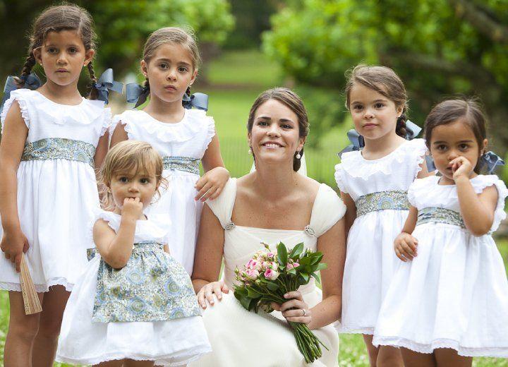 niños de arras bodas ideas