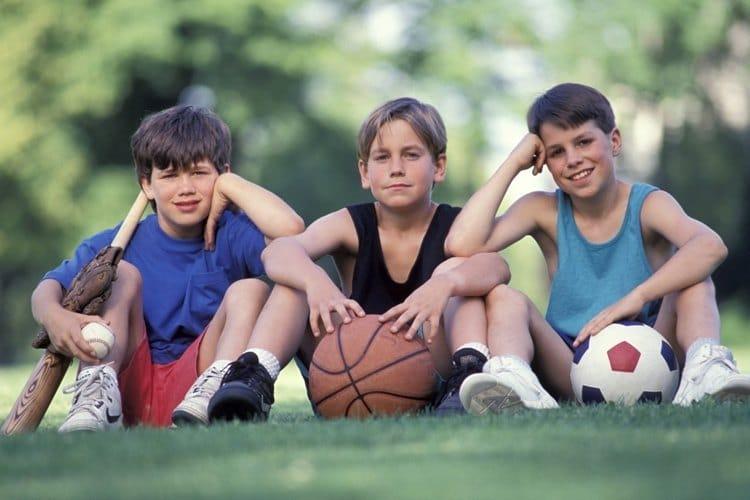 niños deportivos