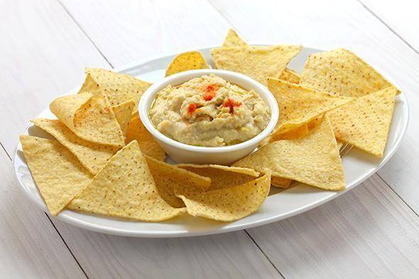 recetas humus niños
