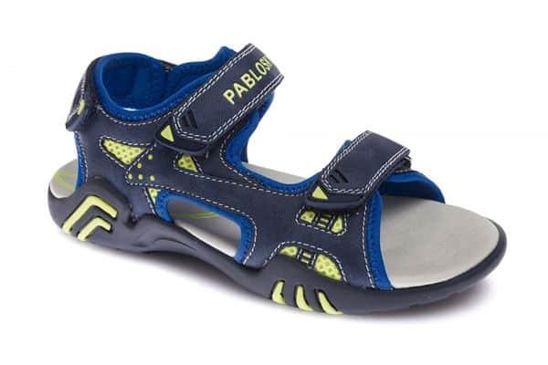 Sandalis abiertas de neopreno para niños con cierre de velcros marca Pabosky