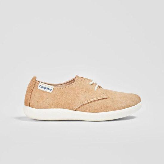 Zapato de vestir para niño en color camel