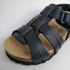 Sandalia Piel Marino Niño Velcro Titanitos