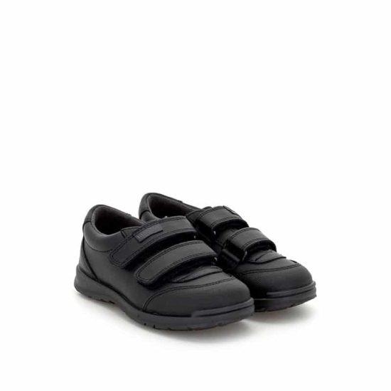 Colegial Negro Doble Velcro Titanitos