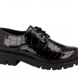 Zapatos de Niña Charol Coco Negro