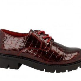 Zapatos de Niña Charol Coco Burdeos