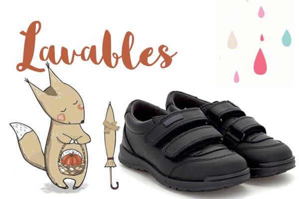 zapatos del cole lavables conguitos