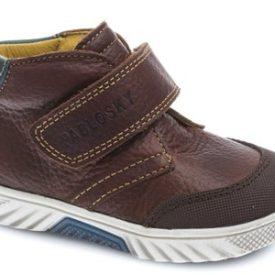 comprar botas de niño en piel marrón