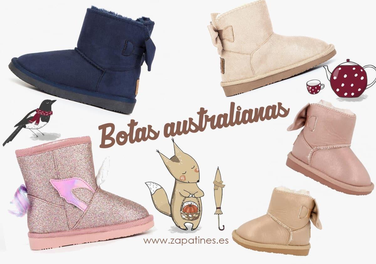 compras botas australianas niña conguitos