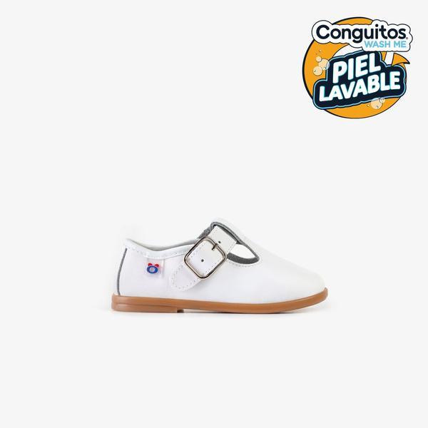 zapato blanco bebé niño