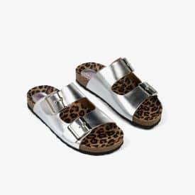 Sandalias plata Conguitos