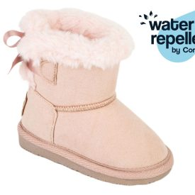 botas tipo australianas en color rosa para bebé niña marca Conguitos